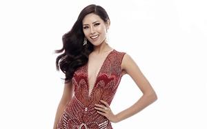 Lộ đầm dạ hội siêu gợi cảm của Nguyễn Thị Loan tại Miss Universe