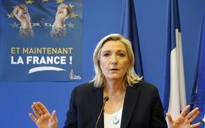 Bầu cử tổng thống Pháp: Bà Le Pen có thắng như ôngTrump?
