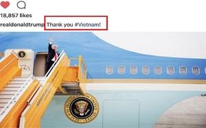 Tổng thống Mỹ Donald Trump và hành động khiến dân mạng phấn khích