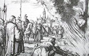 Những thiên tài châu Âu thời Trung Cổ bị hành hình dã man
