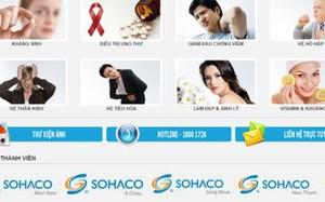 Dược phẩm Sohaco tiếp tục bị thu hồi thuốc kém chất lượng