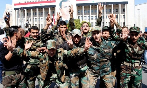 Quan doi Syria giai phong ngoi lang dau tien phia dong Aleppo