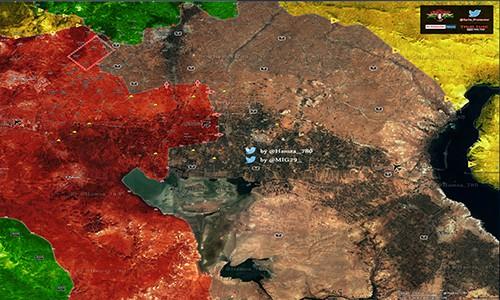 Quan doi Syria thang lon o phia dong thanh pho Aleppo