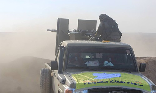 Nguoi Kurd hop luc voi Quan doi Syria danh IS gan Manbij