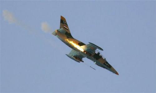 Chien dau co Nga-Syria pha loat can cu cua khung bo al-Nusra