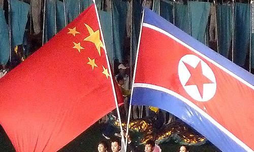 """Bao chi Trieu Tien to Trung Quoc """"vuot qua vach do"""""""
