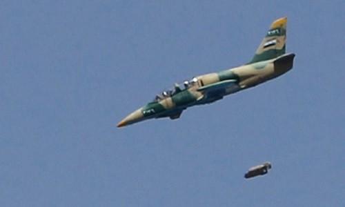 "Quan doi Syria pha nat kho vu khi ""khung"" cua IS o Homs"