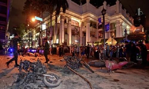 Danh bom xe o Thai Lan, 42 nguoi bi thuong