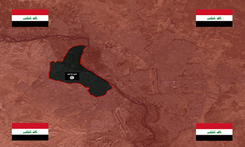 Quan doi Iraq giai phong hon 95% thanh pho Mosul