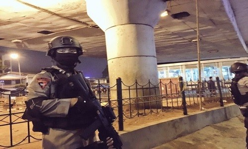 No bom lien tiep o Jakarta, 5 nguoi thiet mang
