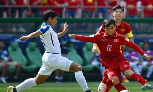 U20 Viet Nam dung buoc sau tran thua U20 Honduras