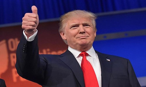 """Nuoc My """"lu mo"""" duoi thoi Tong thong Donald Trump"""