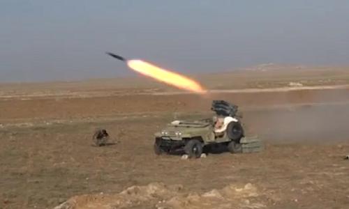 Video: Quan doi Syria tan cong phien quan IS o Tay Deir Ezzor
