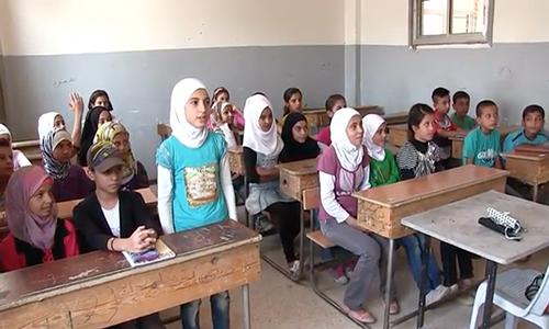 Video: Hoc sinh Syria toi truong o thanh pho Deir Ezzor