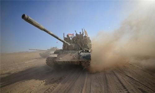 Quan doi Iraq tai chiem vung chien luoc o bien gioi voi Syria