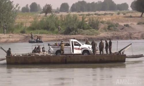 Video: Quan doi Syria vuot song Euphrates o Deir Ezzor