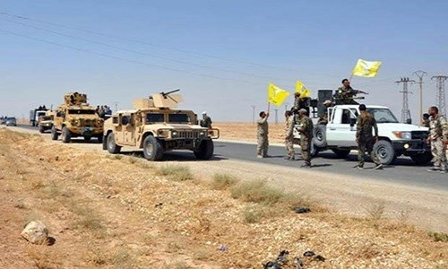 "SDF ""thoi bay"" IS khoi mo dau chien luoc o Deir Ezzor"