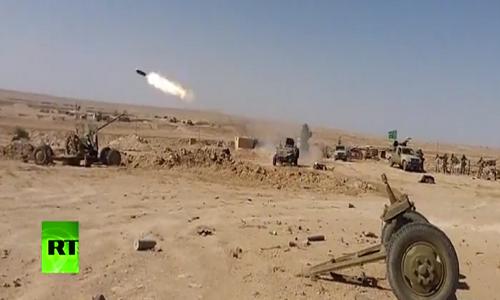 Video: Quan doi Syria tan cong ac liet IS o Deir Ezzor
