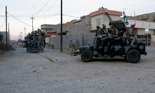Quan doi Iraq chiem nhieu khu vuc trong yeu o Kirkuk
