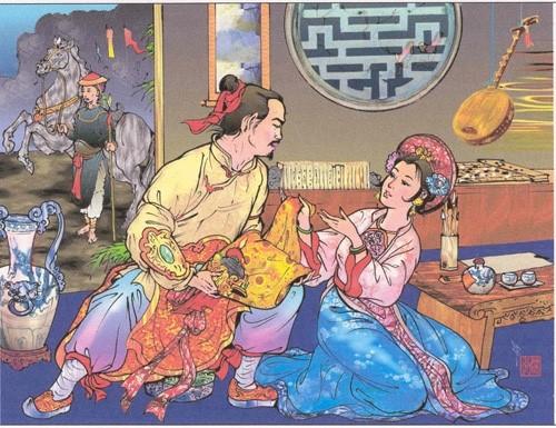 He mo so phan hai nguoi con cua hoang de Quang Trung