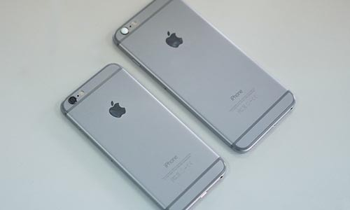 Cua hang nhao nhao xoay so iPhone ban dip Tet Nguyen dan