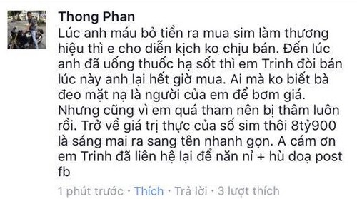 """Huy dau gia sim, Ngoc Trinh """"lui mot buoc vi da tien ba buoc"""
