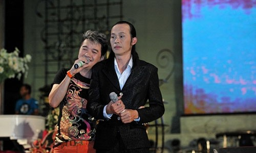 "Dam Vinh Hung tung duoc Hoai Linh ""quang mot cuc tien"" cho"