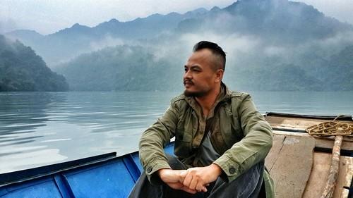 MC Anh Tuan ke ve hinh anh tren mo Tran Lap-Hinh-2