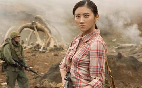 """The luc"" khung cua my nhan dep nhat phim Kong: Skull Island"