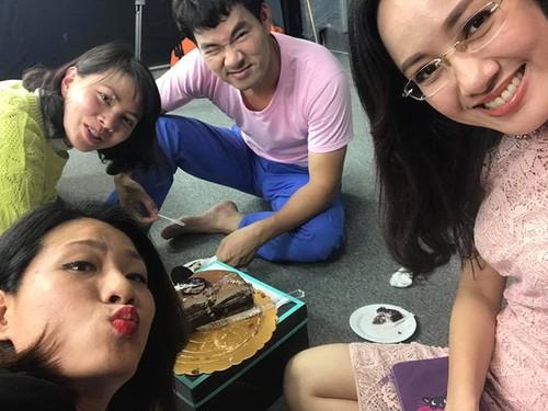 BTV Hoai Anh gap hoa khi nho Xuan Bac photoshop anh tu suong-Hinh-3