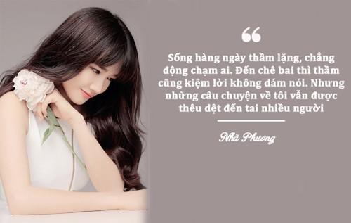 "Nha Phuong: ""Chuyen ve toi van duoc theu det"
