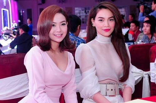 Ho Ngoc Ha bi to chen ep Minh Hang, Ha Vi vui ngam?