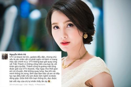 MC Minh Ha: VTV se khong quay lung voi Tran Thanh-Hinh-2