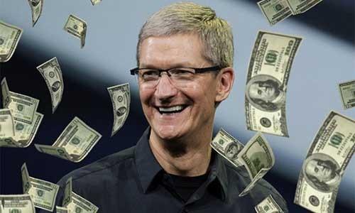 "Sung sot ""nui"" tien mat cua ""dai gia"" Apple"