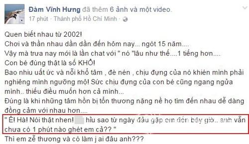 """Chan dung nguoi """"anh trai"""" de thuong cua Ho Ngoc Ha"""