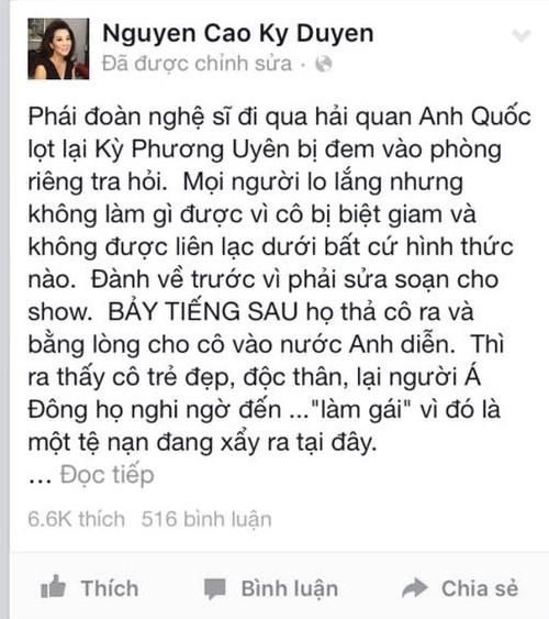 MC Nguyen Cao Ky Duyen chia se ve su co cua Ky Phuong Uyen-Hinh-2