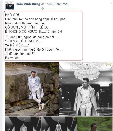 """Dam Vinh Hung than troi vi """"e"""" suot 12 nam"""