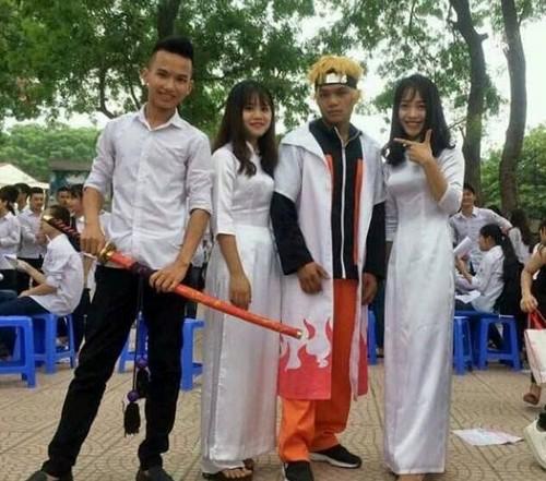 Hoa trang thanh Naruto, nam sinh duoc ho tong ra khoi cong truong-Hinh-2