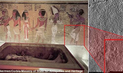 "Bi an ve hai canh cua ""ma"" trong lang mo vua Tutankhamun"
