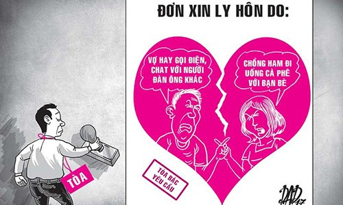 """Do khoc do cuoi"" nhung vu ly hon vi ly do khong ngo"