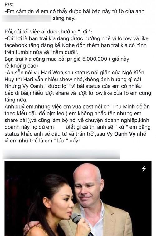 Quan ly cua Thu Minh tuyen bo cach mat Vy Oanh-Hinh-5