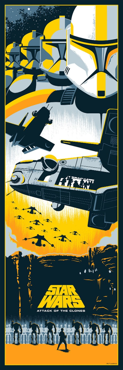 """Loat poster """"Chien tranh cac vi sao"""" kich doc-Hinh-2"""