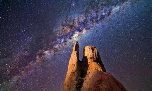 He lo bat ngo ve doi tuong la trong thien ha Milky Way