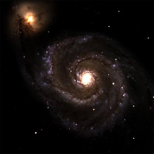 Nhiều phát hiện thú vị quanh thiên hà Xoáy nước