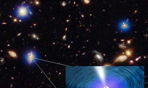 """Khám phá """"sốc"""" về tốc độ lỗ đen hình thành trong thiên hà"""