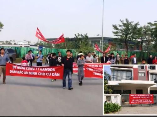 Khu do thi Gamuda Garden: Bao dong tinh trang mat an ninh trat tu-Hinh-2