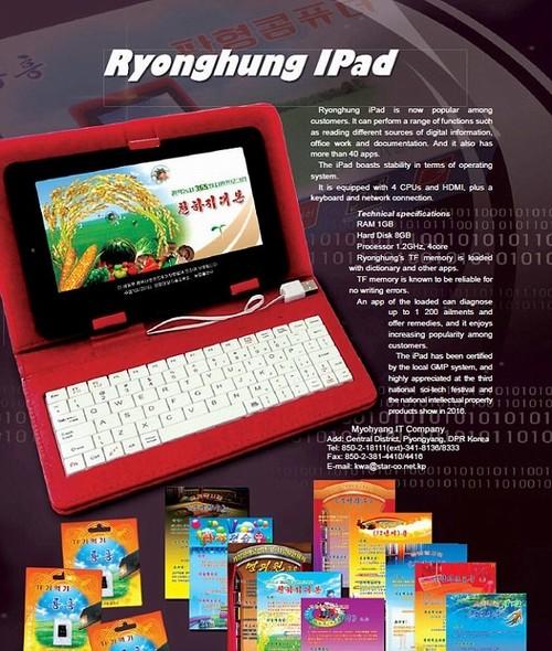 Trieu Tien ra mat may tinh bang rieng co ten iPad