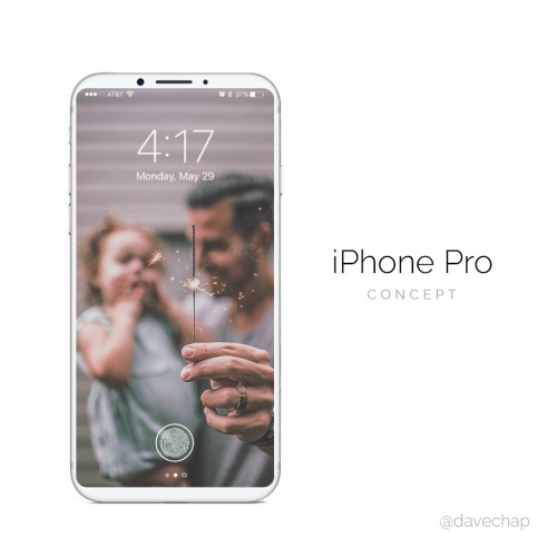 Ngay ngat truoc iPhone Pro dung cam bien Touch ID tren man hinh-Hinh-2