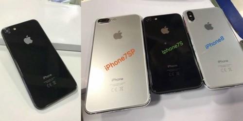 Nong: iPhone 8, 7s va 7s Plus lan luot xuat hien
