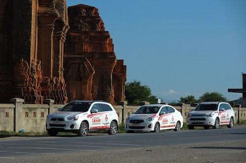 Mitsubishi se xuyen Viet thach thuc tiet kiem nhien lieu